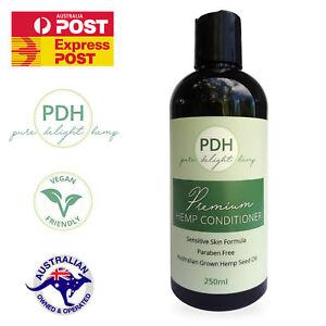Premium Hemp Conditioner 250ml Paraben Free - Perfume Free - Sensitive Skin