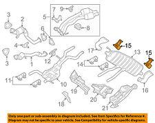VW VOLKSWAGEN OEM 04-09 Touareg 4.2L-V8 Exhaust-Rear Muffler Bracket 7L0253144E