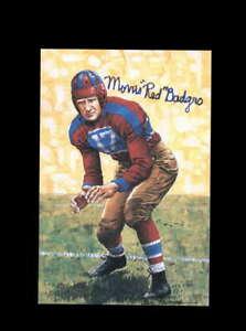 Morris Badgro PSA DNA Coa Signed Goal Line Art Card New York Giants Autographed