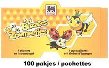 Delhaize De Zoemertjes Les Buzzers 100 pakjes pochettes