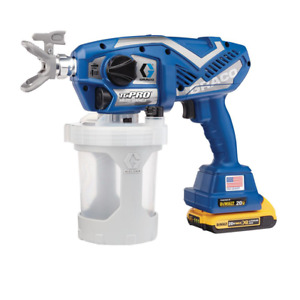 Graco Airless Paint Sprayer Battery Handheld 20-Volt Lithium-Ion Cordless