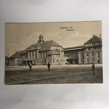 Frankfurt a. M. Ostbahnhof Germany Postkarte Unposted Postcard