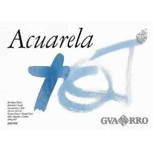 Bloc papel encolado de acuarela CANSON Guarro Din A4 + 240g/m2, x20 Hojas