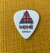Def Leppard Vivian Campbell White ROCK OF AGES guitar pick