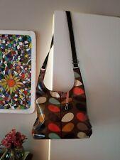 ORLA KIELY Brown Multi Stem Coated Canvas Midi Bag/$38