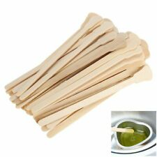 50pc Wooden Body Hair Removal Sticks Waxing Applicator Disposable Spatula Sticks