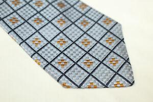 ERMENEGILDO ZEGNA Silk tie Made in Italy F14451