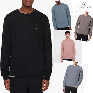 All Saints Mens Crew Neck Designer Pullover O/H Sweatshirt Sweater Jumper New