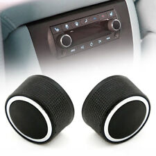 1Pair Audio Radio Volume Control Knob For Escalade Enclave Tahoe Chevrolet GMC F