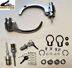 NEW 1960-1966 Chevrolet & GMC Truck- Ignition & Door Lock & Handle set - GM Keys