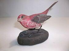 Hamilton Collection RICHARD PALMER Bird PURPLE FINCH Sculpture LE SIGNED