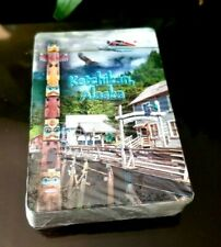 Ketchikan ALASKA Deck of Playing Cards Factory Sealed & in Plastic Case NEW!