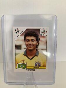 Romario Brazil 1990 USA World Cup Panini Sticker RARE