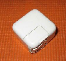 Genuine Apple A1401 12W USB Power Adapter 5.2V-2.4A-With Wall Plug-No USB Cable