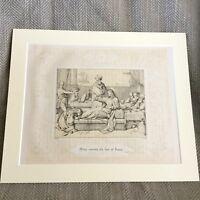 1860 Mary Anointing Jesus Antique Print Original Victorian Art Biblical