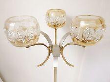 LAMPADAIRE 1970 3 FEUX VINTAGE DESIGN 70s FUNKY RETRO POP SPACE AGE FLOOR LAMP