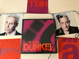 Die Ärzte: Dunkel 2 LP, 180 Gramm Vinyl + Girlande im Schuber (Poster gratis!)