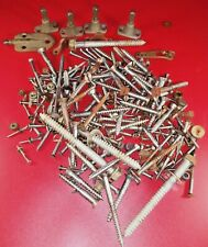 Lot Old Vintage ANTIQUE Bolts Screws & other hardware from Shawn Piano Flat 5Lbs