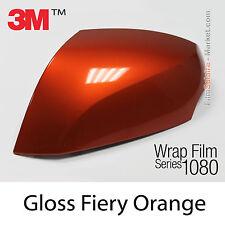 20x30cm LÁMINA Brillante Fiery Naranja 3M 1080 G364 Vinilo CUBIERTA Series