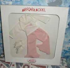 "Mariquita Model 12"" Doll, Made in Spain Pink Pant Set *NIB"