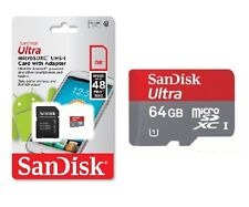 SanDisk Ultra 64GB Micro SDXC Class10 MicroSD Memory Card for Samsung Tab Go Pro