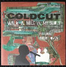 Coldcut - Walk A Mile In My Shoes Promo CD Feat. Robert Owens