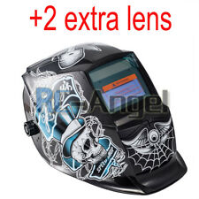 Auto Darkening Hood with Adjustable 4/9-13 for Mig Tig Arc Welding helmet
