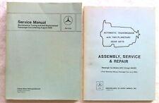 1963 1964 1965 1966 1967 Mercedes MBZ 230SL Service Manual + Transmission Manual