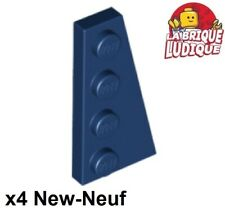 4x Aile Wedge plate 8x3 droite right noir//black 50304 NEUF Lego