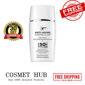 It Cosmetics Anti-Aging Armour Tinted Sunscreen SPF 50+ Super Smart Skin-Perfect
