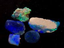 Lightning Ridge Opal Black and crystal offcuts/rub 14.8carats