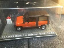 RENAULT 4 4L R4 RODEO 5 4 SAISONS TEILHOL 1982 1/43 Neuf en boite  J44