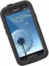 LifeProof FRĒ Samsung Galaxy S3 Waterproof Case - Retail Packaging - BLACK/CLEAR