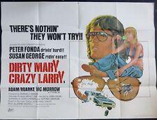 Crime & Thrillers Autographed Original UK Quad Film Posters