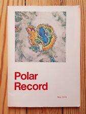Polar Record, 1979, Scott Polar Research Institute, Alaska, Yukon, Greenland