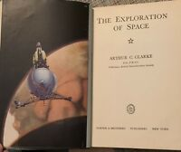 """The Exploration of Space"" by A. Clarke, 1st Ed., 1951 - Eugene F. McDonald, Jr."