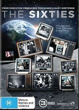 The Sixties (DVD, 2014, 3-Disc Set) R4 New, ExRetail Stock (D152)