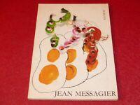 [ART XXe] JEAN MESSAGIER BEL OUVRAGE RARE Photo-Essay F. ROZEN Copenhague 1984