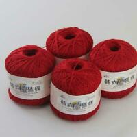AIP Thread No.8 Cotton Crochet Yarn Craft Tatting Hand Knit Embroidery 50gX4 #13