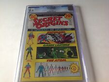 SECRET ORIGINS 2 CGC 9.6 WHITE PAGES ORIGIN SUPERGIRL DC COMICS GREEN LANTERN