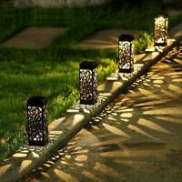 Solar Garden Pathway Lamp Lawn Garden Lantern Outdoor Wireless Waterproof Light
