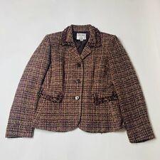 Le Suit  Womens Jacket Size 8P Petite Collections Blazer Sport Coat