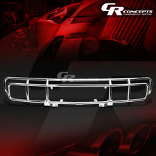OE STYLE STAINLESS CHROME FRONT BUMPER BRUSH GUARD FRAME KIT FOR 03-09 HUMMER H2
