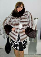 Pelzmantel Pelzjacke REX Chinchilla Fur coat Pelliccia Cincilla Fourrure Sable