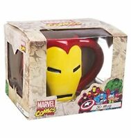 MARVEL COMICS - IRON MAN 3D MUG IN GIFT BOX - BRAND NEW GREAT GIFT