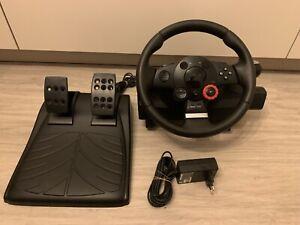 Volant Pc/ps3 Logitech Driving Force GT + Pedales Et Alimentation PlayStation 3