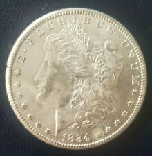 1884 cc Morgan Silver Dollar