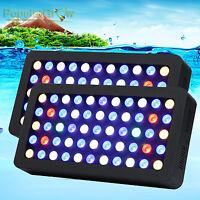 2Pcs PopularGrow Dimmable Grow LED Aquarium Light Full Spectrum Reef Coral Lamp