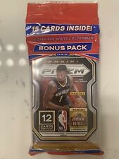 2020-21 Panini Prizm NBA Basketball Cello Fat Pack 15 Cards Factory Sealed
