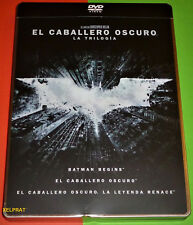 TRILOGIA EL CABALLERO OSCURO Edic Metalica - The Dark Knight trilogy DVD R2